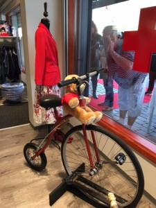 Cykel og bamse